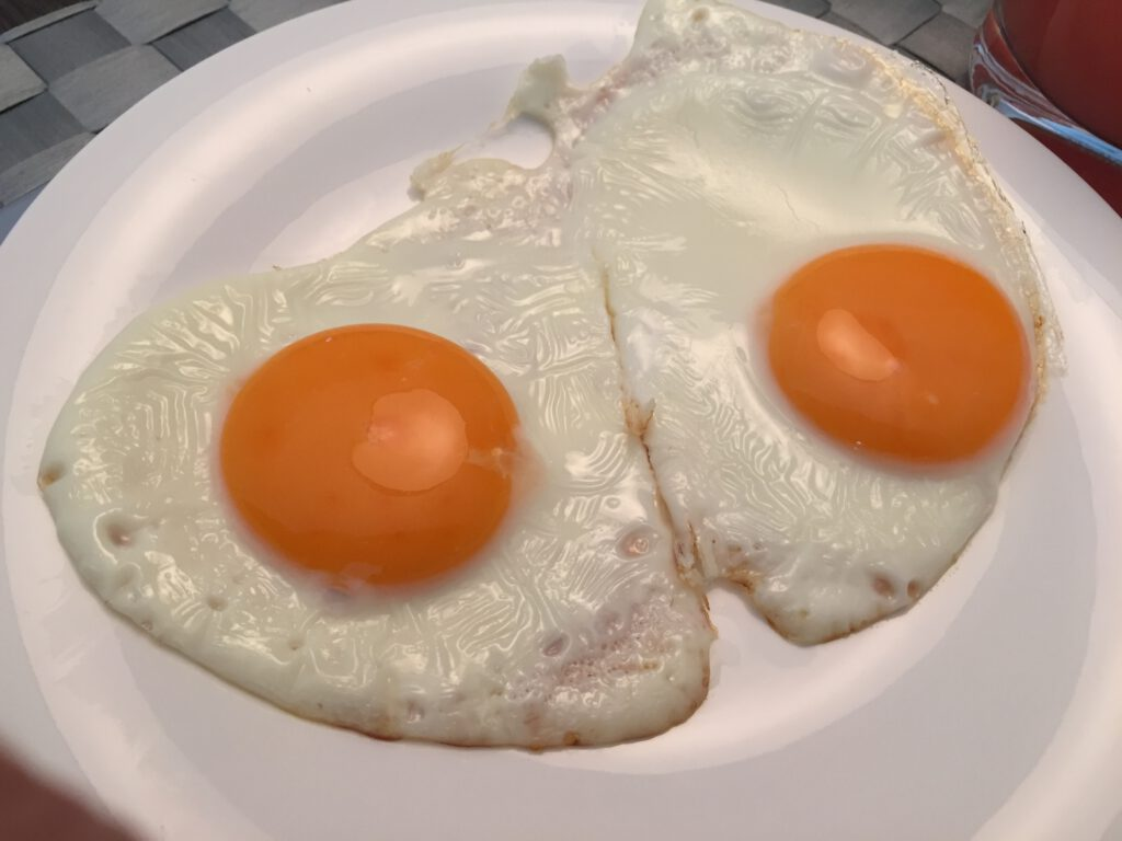 Cholesterin Spiegelei