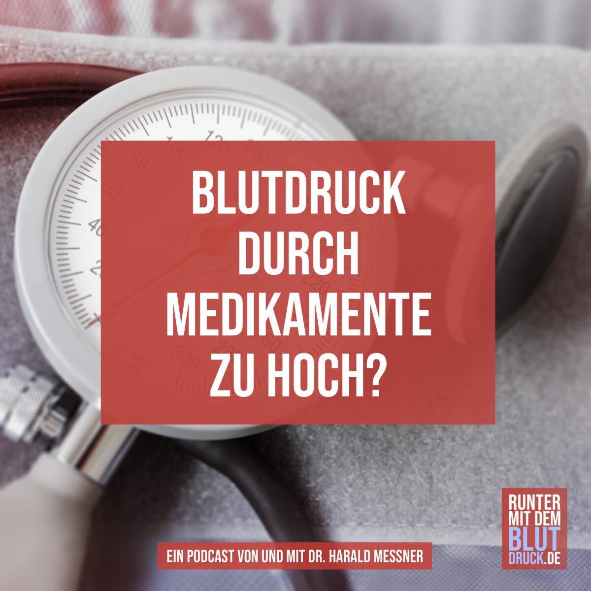 Bluthochdruck durch Medikamente?