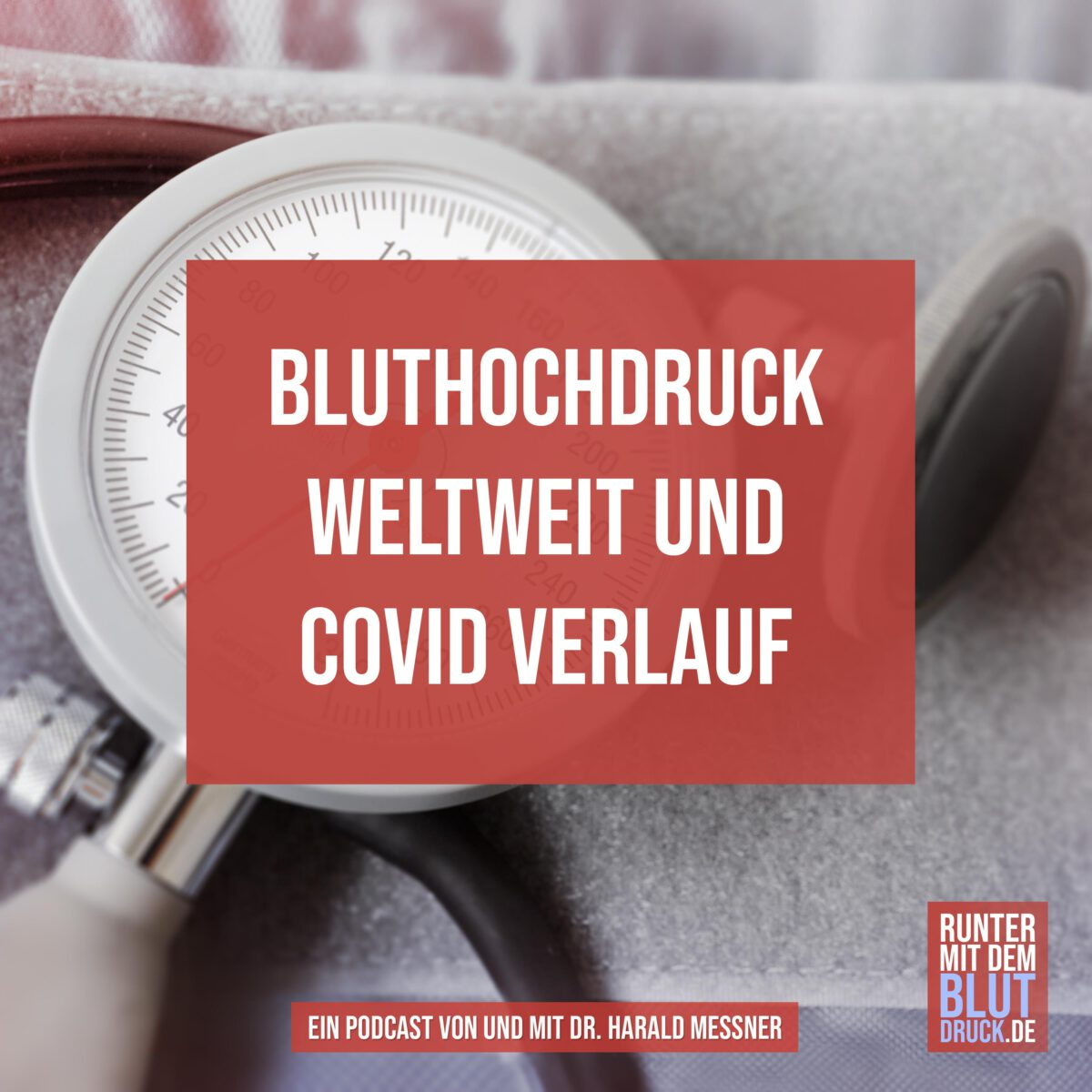 Bluthochdruck weltweit und COVID Verlauf